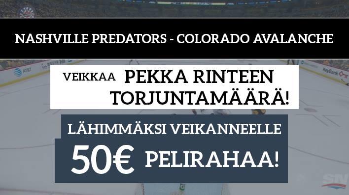 NHL Playoffs -KISA! Lähimmäksi veikanneelle 50€ pelirahaa