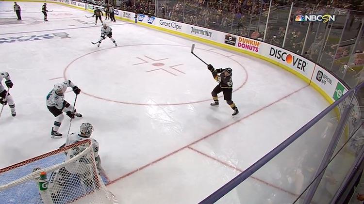VIDEO: Erik Haula yllätti Jonesin täysin - maali lähes nollakulmasta!