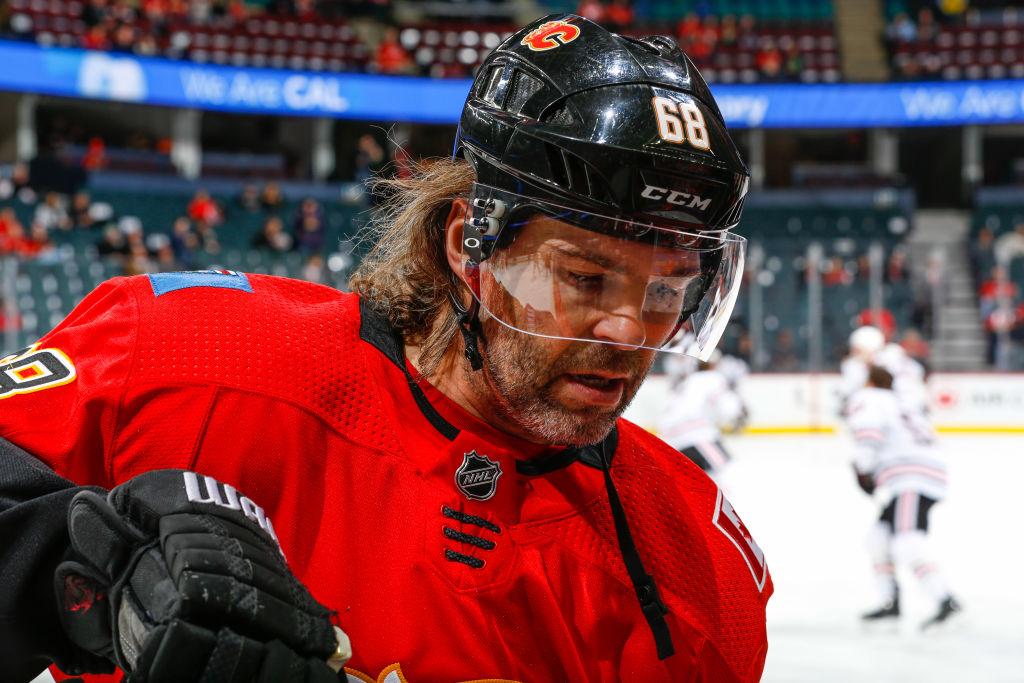 Jaromir Jagr jatkaa uraansa - haaveilee edelleen NHL:stä?