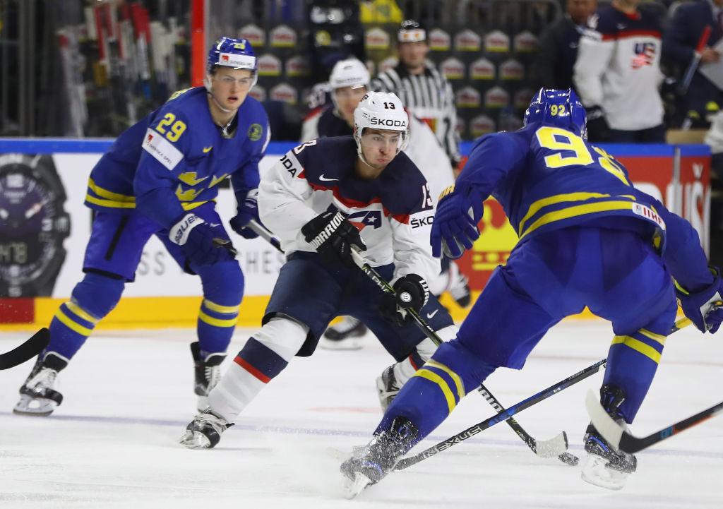 Nyt pelataan finaalipaikasta - USA haastaa NHL-tähtiä vilisevän Tre Kronorin