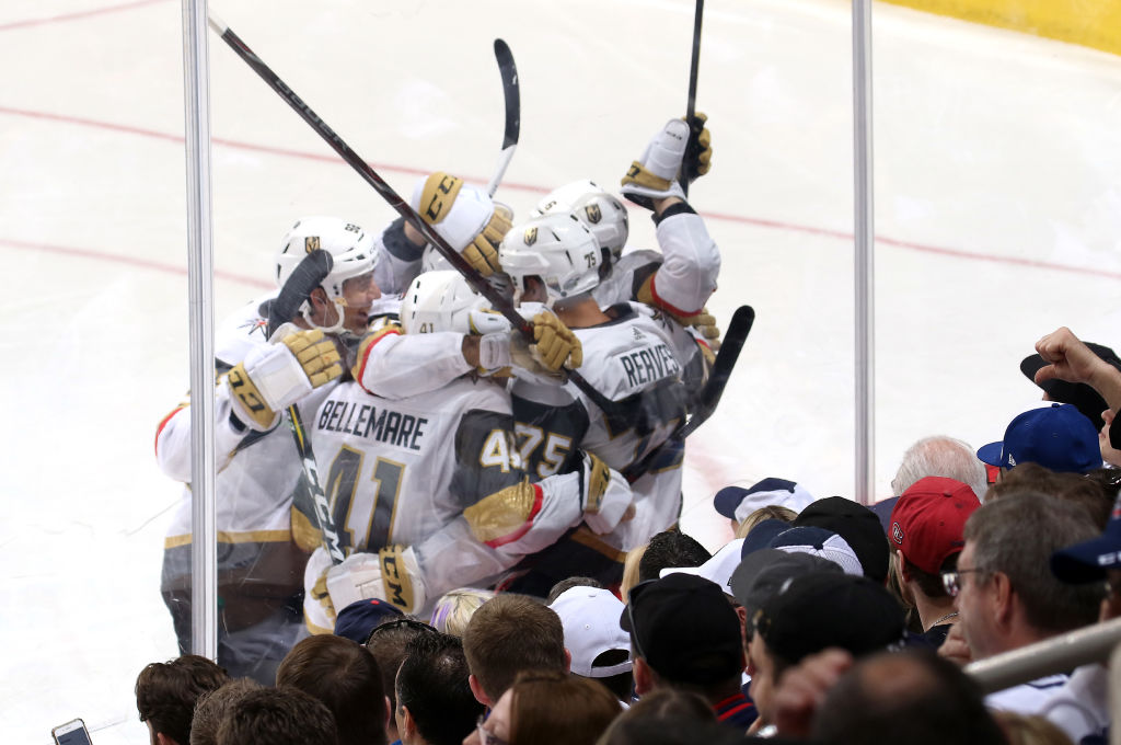 VIDEO: Kyllä, se on totta! Vegas Golden Knights Stanley Cup -finaaleihin