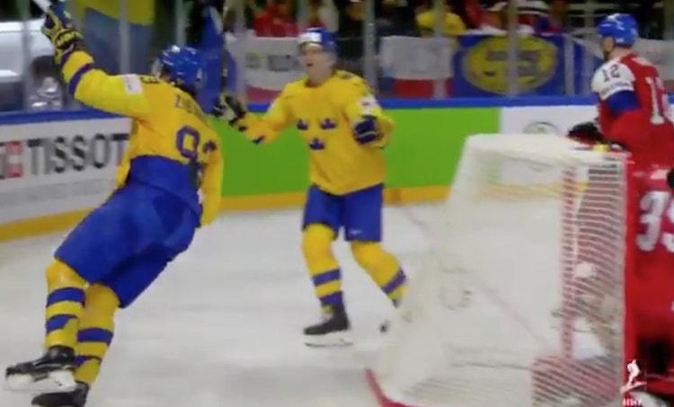VIDEO: Mika Zibanejad iski mahtavan maalin - löi Ekman-Larssonia kyynärpäällä