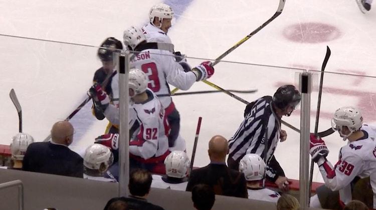Penguins voi huokaista helpotuksesta - Tom Wilson sai pelikieltoa