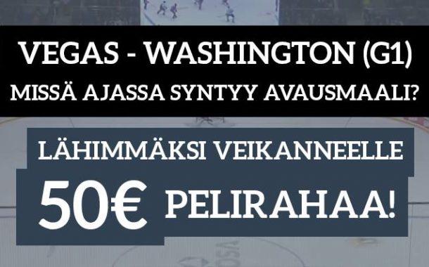 NHL Stanley Cup -KISA! Lähimmäksi veikanneelle 50€ pelirahaa