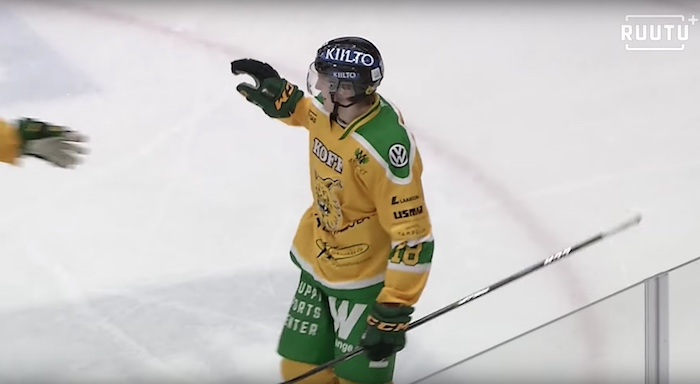 Ville Meskanen sai NHL-sopimuksen - NY Rangers osoitteena!
