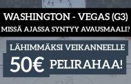 NHL Finaali -KISA! Lähimmäksi veikanneelle 50€ pelirahaa