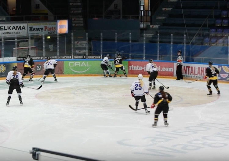 Jääkiekko säilyy Ruudun tarjonnassa - yli 1400 ottelua suorana