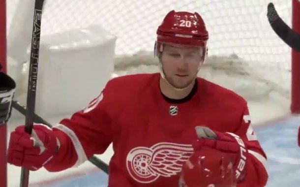 VIDEO: Jussi Jokinen teki maalin Detroit Red Wingsin riveissä