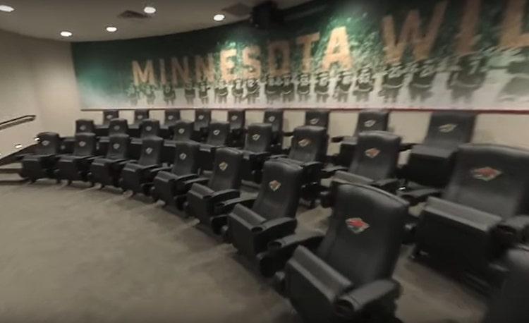 VIDEO: Minnesota Wildin uudet treenitilat on mykistävä kompleksi