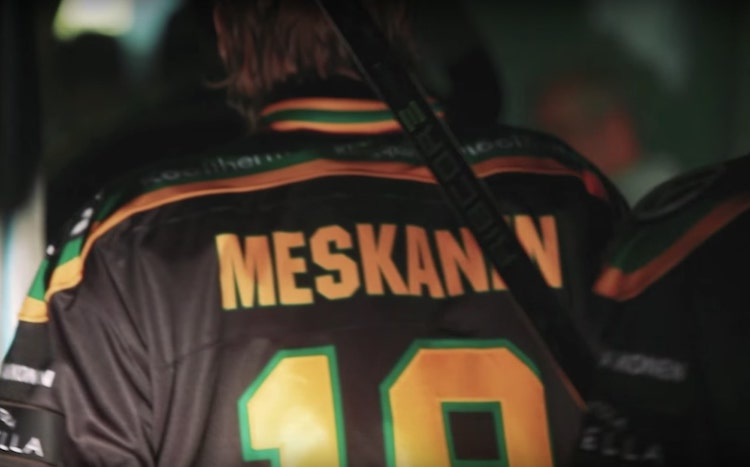 VIDEO: Ville Meskanen iski maalin Minnesota Wildia vastaan