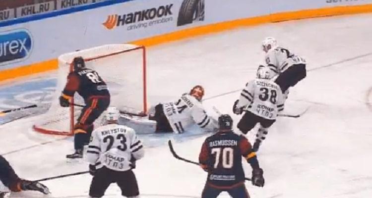 VIDEO: Iiro Pakarinen avasi maalitilinsä KHL:ssä - Wolskilta kermainen passi
