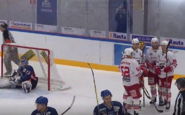 VIDEO: Ohhoh, mikä koulumaali Kiekko-Vantaalta - klap klap klap!