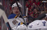 VIDEO: Vladimir Tarasenko menetti hampaan - oli pelkkää hymyä