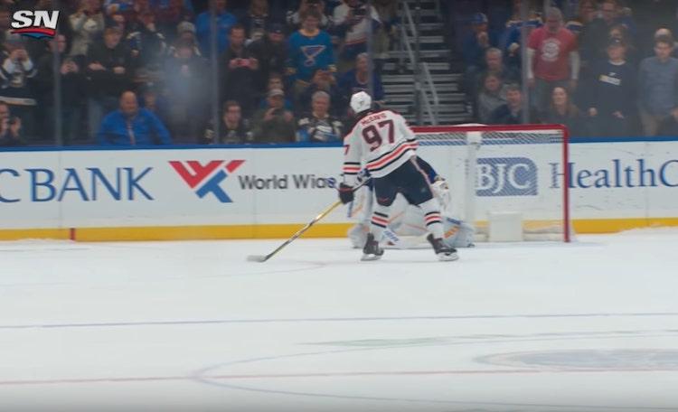VIDEO: Connor McDavid viimeisteli kylmänviileän rankkarin