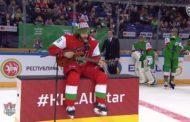 VIDEO: KalPasta tuttu Mathew Maione esitti kaukalossa huikean balladin