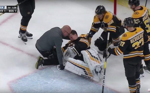 VIDEO: Nyt sattui Tuukka Raskia - jäi tuskissaan jään pintaan