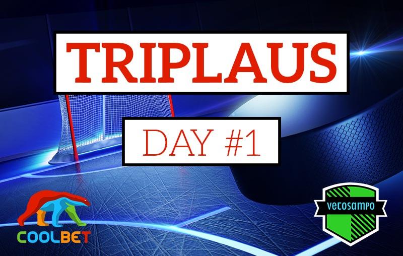 Vetosampon Lätkätriplaus & Day 1: Liigassa luotetaan ennakkosuosikeihin!