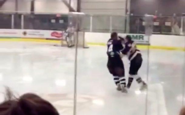 VIDEO: Pelaajat laittoivat kaukalossa kirjaimellisesti tanssiksi