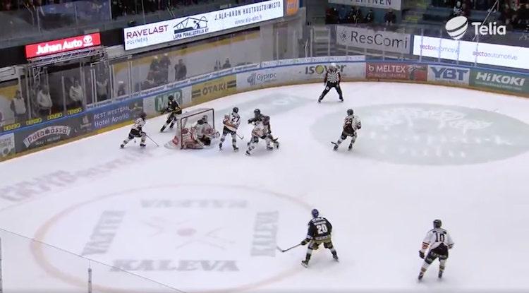 VIDEO: Liiga-kauden hienoin syöttö? Kuparilta maaginen suoritus
