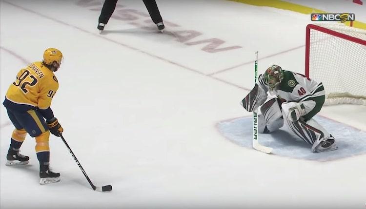 VIDEO: Ryan Johansen taikuroi hävyttömän rankkarimaalin