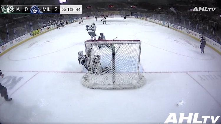 VIDEO: AHL:ssä räikeä filmaus - meni tuomareille läpi