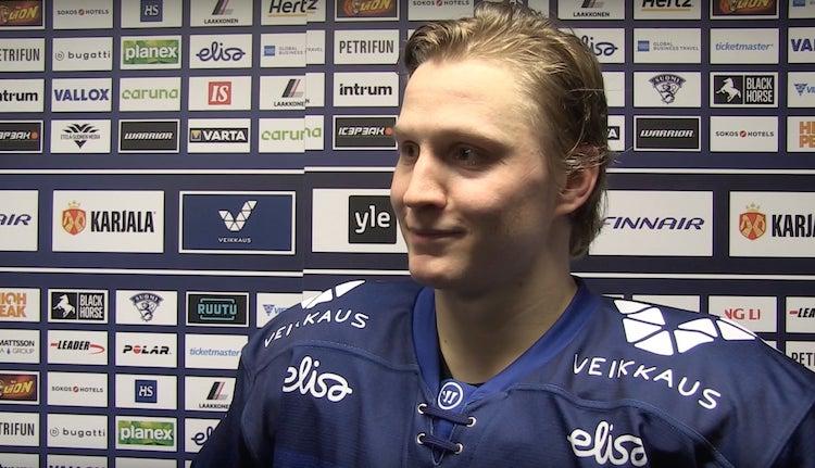 Joel Kiviranta teki NHL-sopimuksen Dallas Starsin kanssa.