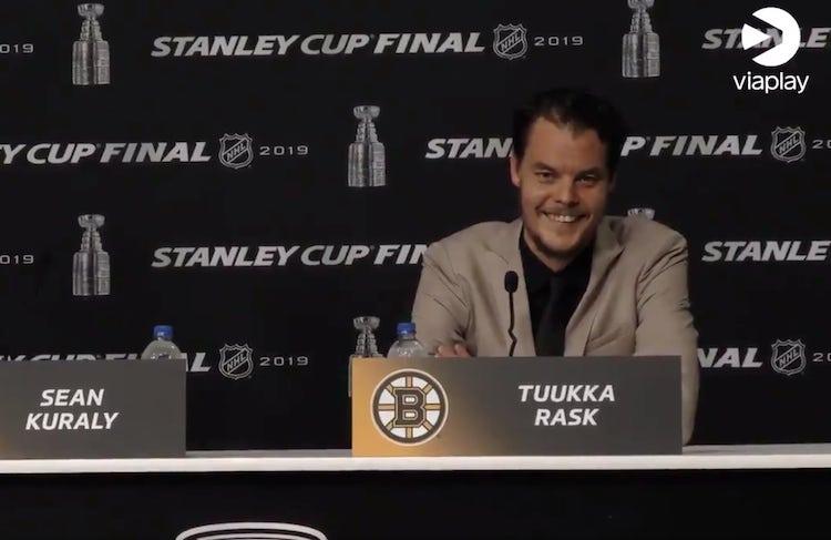 VIDEO: Tuukka Raskilta kysyttiin se kaikista oleellisin -