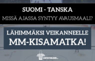 KISA: Veikkaa Suomi-Tanska-ottelun avausmaali ja voita matka MM-kisoihin!