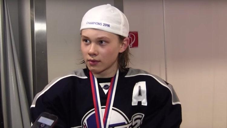 Suomalaispuolustaja Kasper Puutio varattiin koko CHL-draftin ykkösenä