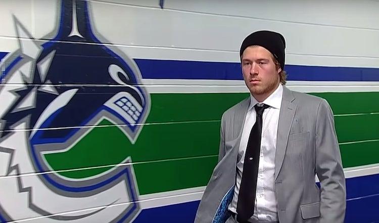 Brock Boeser teki Vancouverin kanssa jatkopahvin.