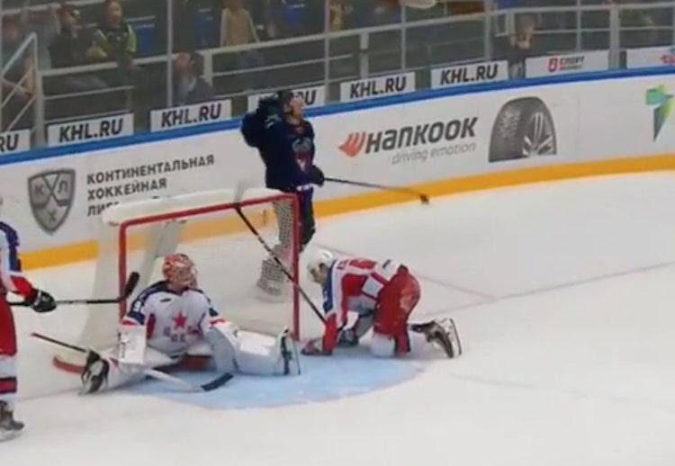 VIDEO: KHL:ssä jälleen villi jatkoaikamaali - CSKA kaatui 3 sekuntia ennen loppua