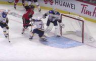 VIDEO: Jake Allenille kävi paha moka - Vitaly Abramov teki NHL-uransa ensimmäisen maalin