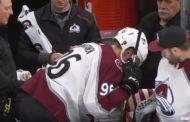 VIDEO: Mikko Rantanen loukkaantui todella häijyllä tavalla