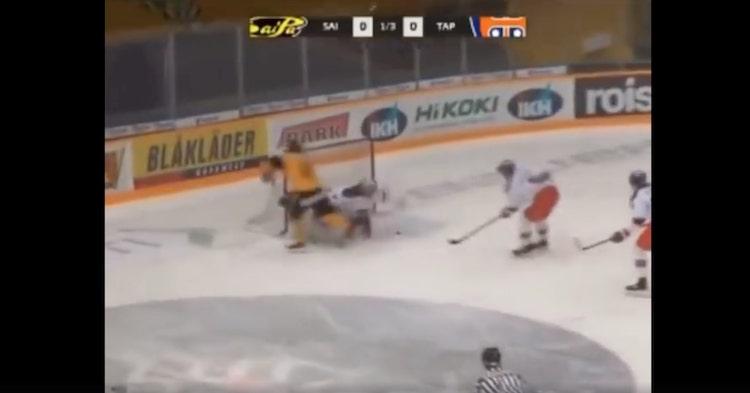 SaiPan A-junioreissa pelaava Niko Kautiainen veivasi alkukauden yhden hienoimmista maaleista.