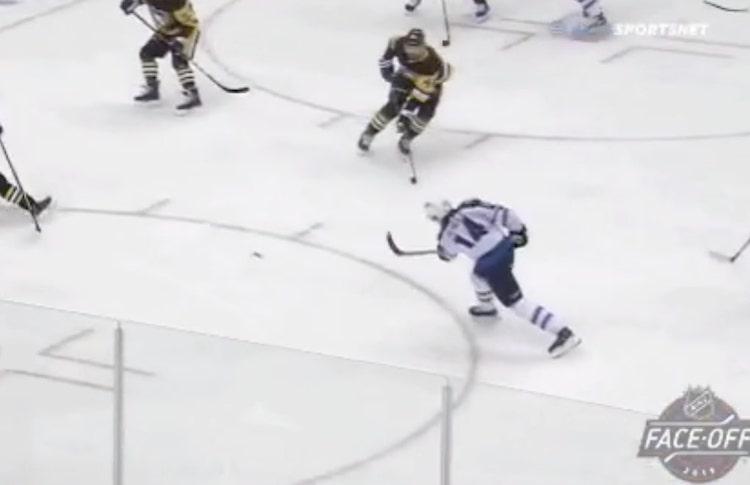 VIDEO: Ville Heinola iski NHL-uransa ensimmäisen maalin!