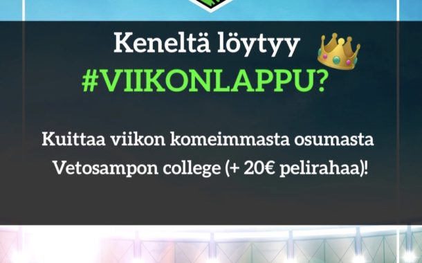 Tänään palkitaan #VIIKONLAPPU! Komeimmat osumat jaetaan Instagramissa