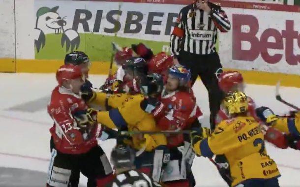 VIDEO: Lukon Patrik Westerholm pelikieltoon maalivahdin potkaisemisesta