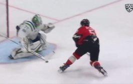 VIDEO: KHL:ssä tehtiin upea maali - läpiajosta