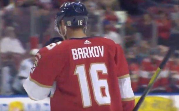 VIDEO: Aleksander Barkov alusti Panthersin voiton - pisteputki hyvällä mallilla