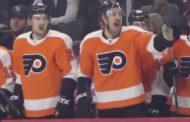 VIDEO: Flyers mikitti Kevin Hayesin otteluun ja lopputulos oli puhdasta kultaa