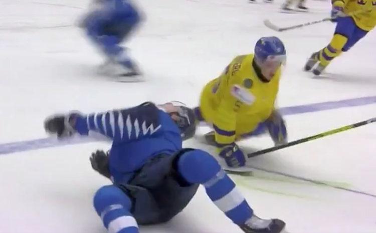 VIDEO: Rasmus Kupari loukkasi itsensä pahan näköisesti - poissa myös harjoituksista