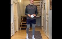 Video: Jesse Puljujärvi otti osaa vessapaperin pomputteluhaasteeseen koomisella videolla