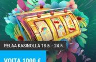 Nappaa suurin voitto ilmaiskierroksilla ja voita 1000€!