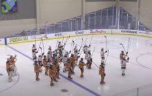 Video: Edmonton Oilersilta kaunis ele menehtyneelle joukkuekaveri Colby Cavelle