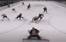 Video: Sidney Crosbyn taidot hämmästyttävät - yhden käden rystylaukaus yläkulmaan!