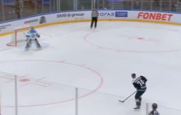 Video: Nikolai Prokhorkinilta upea rankkarimaali KHL:n harjoitusmatsissa